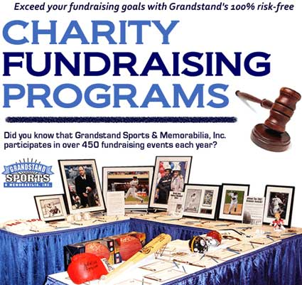 Charity Sports Memorabilia Auctions