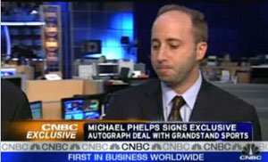 Michael Phelps CNBC