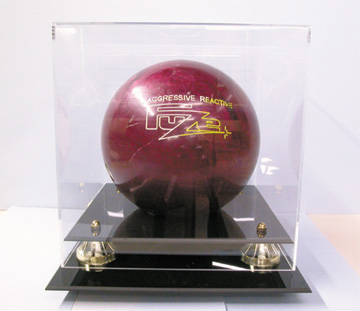Bowling Ball Deluxe Display Case Cube