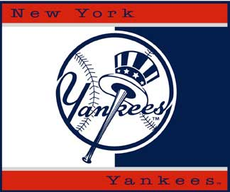 All-star Collection Blanket/Throws - New York Yankees