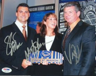 Vince, Shane and Stephanie McMahon