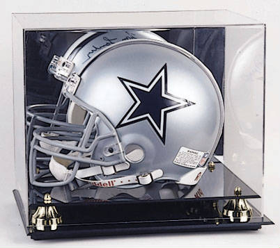 Football Helmet Display Case cube