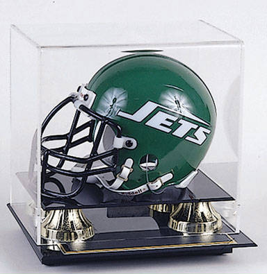 Football Mini-Helmet Display Case Cube
