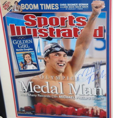 Michael Phelps Sports Illustrated Cover