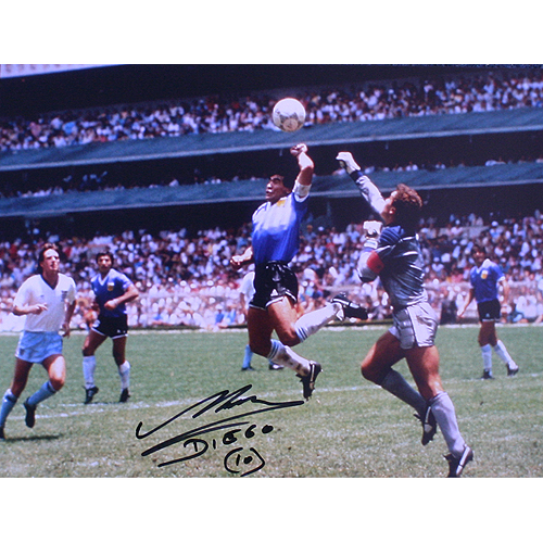 "Diego Maradona ""The Hand of God"""