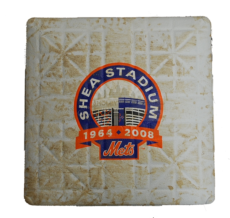 Shea Stadium Final Season Game Used Base