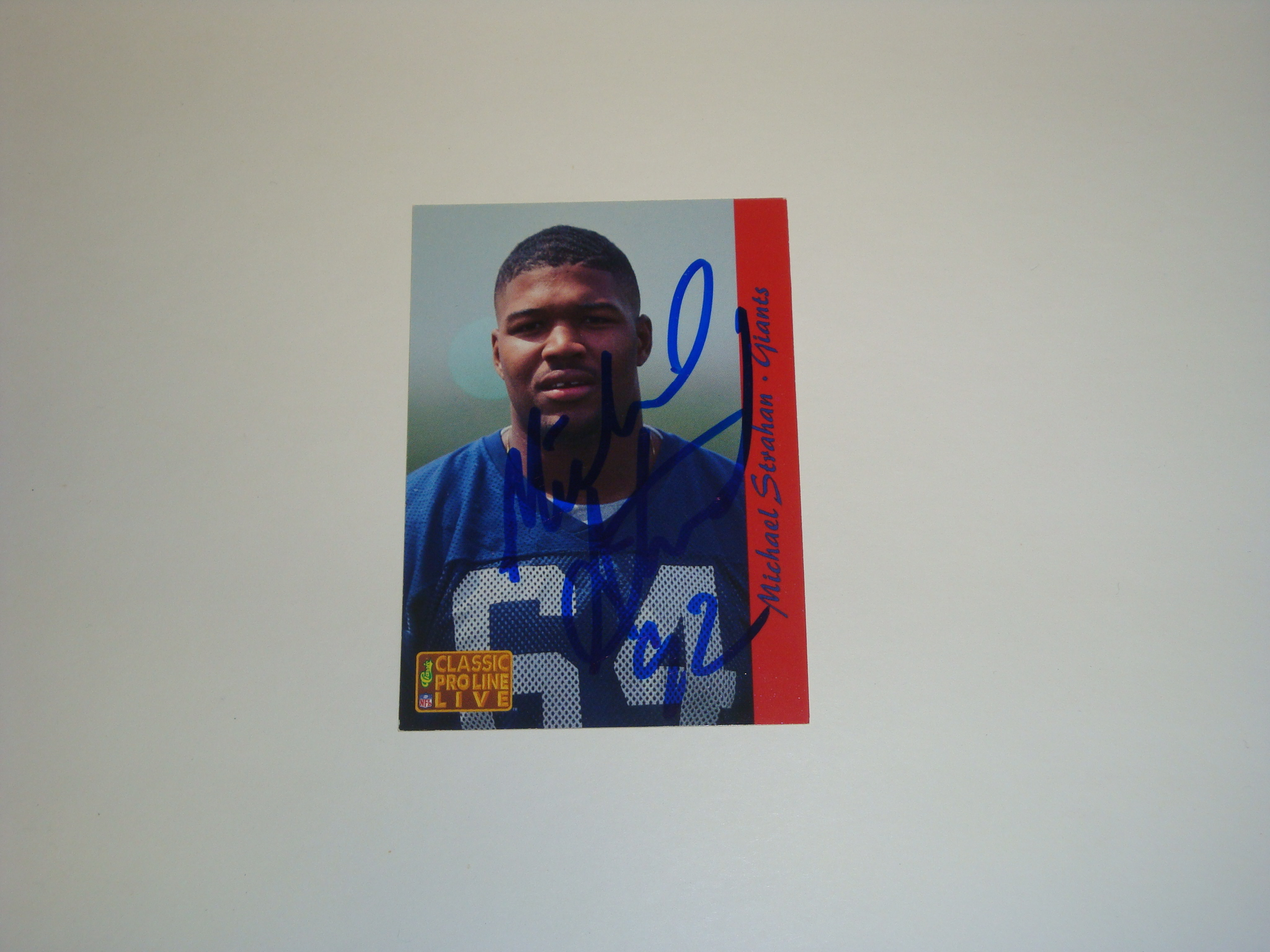 Michael Strahan Rookie
